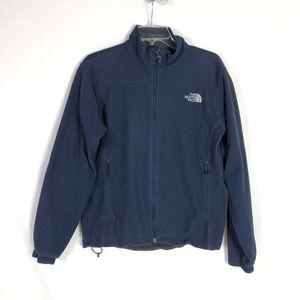 The North Face Windwall Navy Fleece Jacket